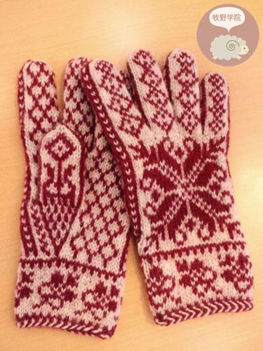 五本指手袋